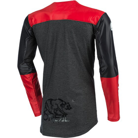 O'Neal Mayhem Maillot Crackle 91 Homme, hexx-black/red